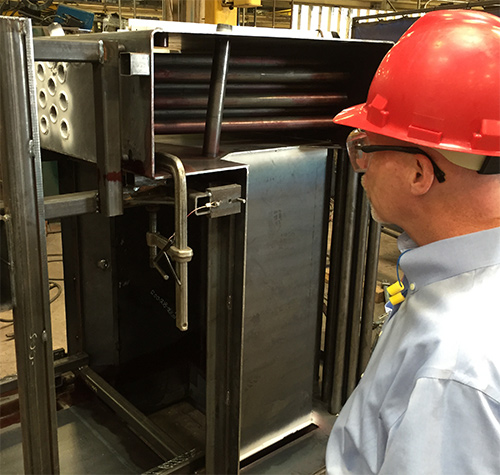 manufacturing of steel furnaces